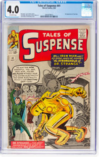 Tales of Suspense #41 (Marvel, 1963) CGC VG 4.0 Off-white pages