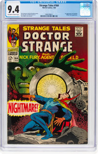 Strange Tales #164 (Marvel, 1968) CGC NM 9.4 Off-white to white pages