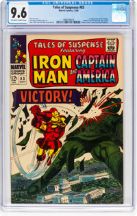 Tales of Suspense #83 (Marvel, 1966) CGC NM+ 9.6 Off-white to white pages