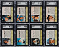 Baseball Cards:Sets, 1961 Post Cereal Baseball Partial Set (118/200), Plus Extras (19), Most with Full Black Lines. ...