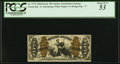 Fractional Currency:Third Issue, Fr. 1372 50¢ Third Issue Justice PCGS About New 53.. ...