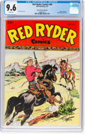 Golden Age (1938-1955):Western, Red Ryder Comics #48 Mile High Pedigree (Dell, 1947) CGC NM+ 9.6 White pages....