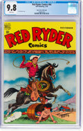 Golden Age (1938-1955):Western, Red Ryder Comics #64 Mile High Pedigree (Dell, 1948) CGC NM/MT 9.8 White pages....