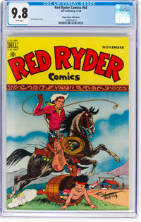 Red Ryder Comics #64 Mile High Pedigree (Dell, 1948) CGC NM/MT 9.8 White pages