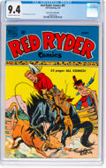 Golden Age (1938-1955):Western, Red Ryder Comics #81 Mile High Pedigree (Dell, 1950) CGC NM 9.4 Off-white to white pages....
