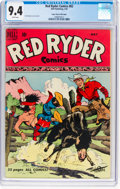 Golden Age (1938-1955):Western, Red Ryder Comics #82 Mile High Pedigree (Dell, 1950) CGC NM 9.4 White pages....