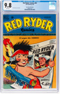 Golden Age (1938-1955):Western, Red Ryder Comics #85 Mile High Pedigree (Dell, 1950) CGC NM/MT 9.8 White pages....