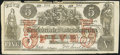 Confederate Notes:1861 Issues, CT31 Counterfeit $5 1861 Very Fine.. ...