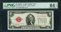 Small Size:Legal Tender Notes, Fr. 1508 $2 1928G Legal Tender Note. PMG Choice Uncirculated 64EPQ.. ...