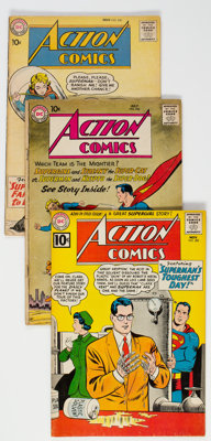 Action Comics Group of 25 (DC, 1959-63) Condition: Average GD+.... (Total: 25 Comic Books)