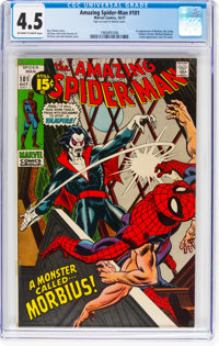 The Amazing Spider-Man #101 (Marvel, 1971) CGC VG+ 4.5 Off-white to white pages
