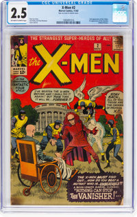X-Men #2 (Marvel, 1963) CGC GD+ 2.5 Off-white to white pages