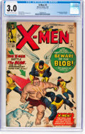 Silver Age (1956-1969):Superhero, X-Men #3 (Marvel, 1964) CGC GD/VG 3.0 Cream to off-white pages....