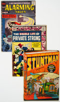 Golden Age (1938-1955):Miscellaneous, Golden to Silver Age Jack Kirby Related Comics Group of 7 (Various Publishers, 1946-59) Condition: Average GD.... (Total: 7 )