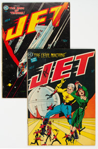Jet Powers #3 and 4 Group (Magazine Enterprises, 1951) Condition: Average VG.... (Total: 2 )