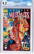 Modern Age (1980-Present):Superhero, The New Mutants #98 (Marvel, 1991) CGC NM- 9.2 Off-white to whitepages....