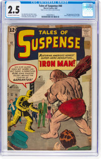 Tales of Suspense #40 (Marvel, 1963) CGC GD+ 2.5 Off-white to white pages
