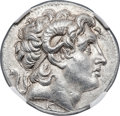 Ancients:Greek, Ancients: THRACIAN KINGDOM. Lysimachus (305-281 BC). AR tetradrachm (30mm, 17.16 gm, 12h). NGC MS 5/5 - 4/5, Fine Style, light marks....