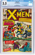 Silver Age (1956-1969):Superhero, X-Men #9 (Marvel, 1965) CGC VG- 3.5 Off-white to white pages....