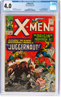 Silver Age (1956-1969):Superhero, X-Men #12 (Marvel, 1965) CGC VG 4.0 Off-white pages....