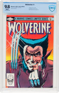 Modern Age (1980-Present):Superhero, Wolverine #1 (Marvel, 1982) CBCS NM/MT 9.8 White pages....