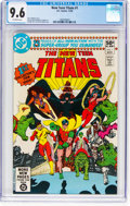 Modern Age (1980-Present):Superhero, New Teen Titans #1 (DC, 1980) CGC NM+ 9.6 Off-white pages....