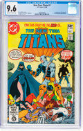 Modern Age (1980-Present):Superhero, New Teen Titans #2 (DC, 1980) CGC NM+ 9.6 Off-white to whitepages....