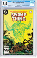 Modern Age (1980-Present):Horror, Saga of the Swamp Thing #37 (DC, 1985) CGC VF+ 8.5 White pages....