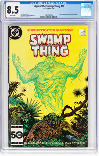 Saga of the Swamp Thing #37 (DC, 1985) CGC VF+ 8.5 White pages