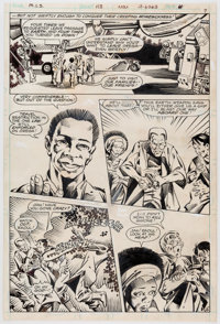 Michael Golden and Bob Wiacek Mystery in Space #113 Story Page 6 Original Art (DC, 1980)