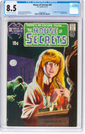 Bronze Age (1970-1979):Horror, House of Secrets #92 (DC, 1971) CGC VF+ 8.5 Off-white to white pages....