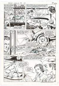 Murphy Anderson Secret Origins #8 Story Page 12 Doll Man Original Art (DC, 1986)