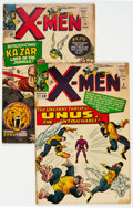 Silver Age (1956-1969):Superhero, X-Men #8 and 10 Group (Marvel, 1964-65) Condition: Average VG-....(Total: 2 Comic Books)