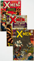 Silver Age (1956-1969):Superhero, X-Men Group of 21 (Marvel, 1965-70) Condition: Average VG.... (Total: 21 Comic Books)