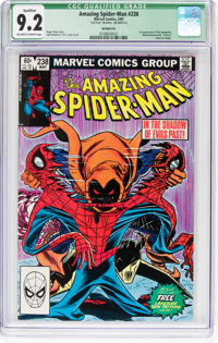 The Amazing Spider-Man #238 (Marvel, 1983) CGC Qualified NM- 9.2 Off-white to white pages