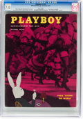 Magazines:Vintage, Playboy #12 (HMH Publishing, 1954) CGC FN/VF 7.0 White pages....