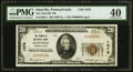 National Bank Notes:Pennsylvania, Danville, PA - $20 1929 Ty. 1 The Danville NB Ch. # 1078 PMG Extremely Fine 40.. ...