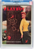Magazines:Vintage, Playboy V2#11 (HMH Publishing, 1955) CGC VF+ 8.5 White pages....