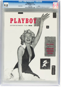 Playboy #1 Reprint (HMH Publishing, 2007) CGC NM/MT 9.8 White pages