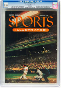Sports Illustrated V1#1 (Time Inc., 1954) CGC VF/NM 9.0 White pages