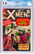 Silver Age (1956-1969):Superhero, X-Men #5 (Marvel, 1964) CGC FN/VF 7.0 Off-white to white pages....