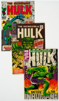 Silver Age (1956-1969):Superhero, The Incredible Hulk #102-122 and Annual #1 Group of 22 (Marvel, 1968-69) Condition: Average VG.... (Total: 22 Comic Books)