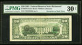 Error Notes:Third Printing on Reverse, Third Printing on Back Error Fr. 2079-E $20 1993 Federal Reserve Note. PMG Very Fine 30 Net.. ...