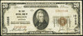 National Bank Notes:Nebraska, Belden, NE - $20 1929 Ty. 1 The First NB Ch. # 10025 Very Good-Fine.. ...