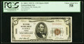 National Bank Notes:Kansas, Eureka, KS - $5 1929 Ty. 1 The Citizens NB Ch. # 5655 PCGS Choice About New 58.. ...