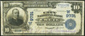 National Bank Notes:Nebraska, Crete, NE - $10 1902 Plain Back Fr. 627 The City NB Ch. # (W)9731 Fine.. ...