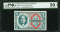 Military Payment Certificates:Series 611, Series 611 $1 PMG About Uncirculated 50 EPQ.. ...