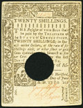 Colonial Notes:Connecticut, Connecticut June 1, 1780 20s Extremely Fine.. ...