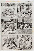 Original Comic Art:Panel Pages, Don Perlin Werewolf by Night #31 Story Page 14 Original Art (Marvel, 1975)....