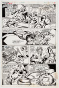 Original Comic Art:Panel Pages, Gil Kane and Mike Esposito Giant-Size Super-Heroes #1 Story Page 14 Original Art (Marvel Comics, 1975). ...